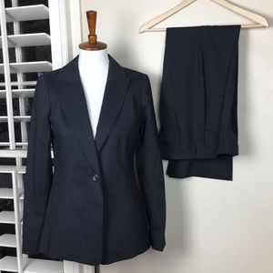 Pendleton pant suit gray virgin wool size 4